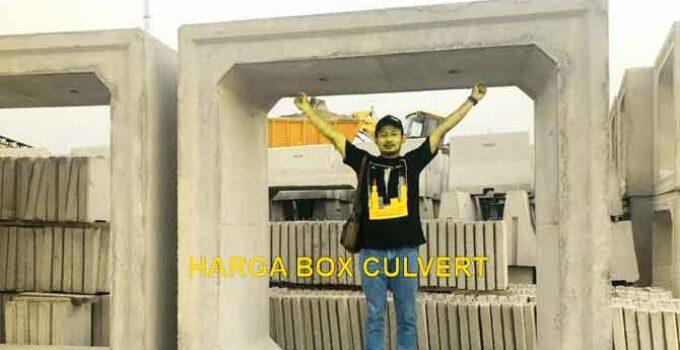 Harga Box Culvert Untuk Saluran Tertutup